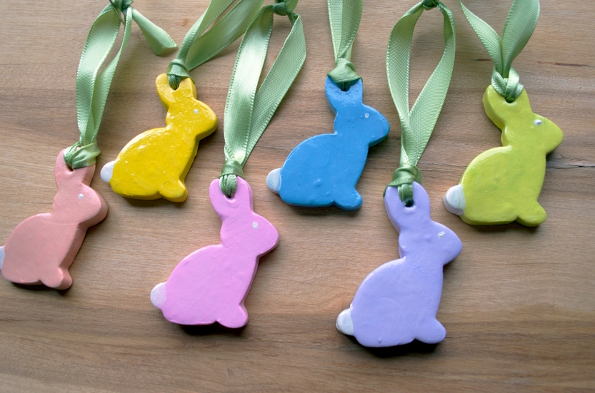 easter bunny ornaments