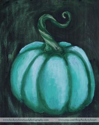 Pumpkin green