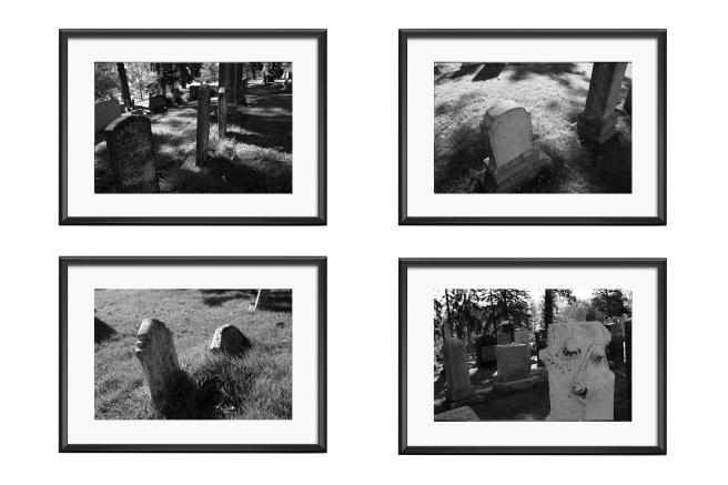 Cemetery Set - No frames