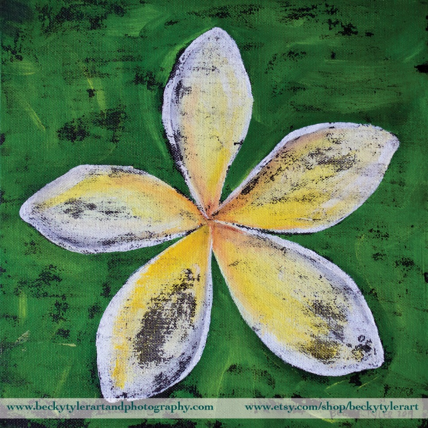 Plumeria Yellwo