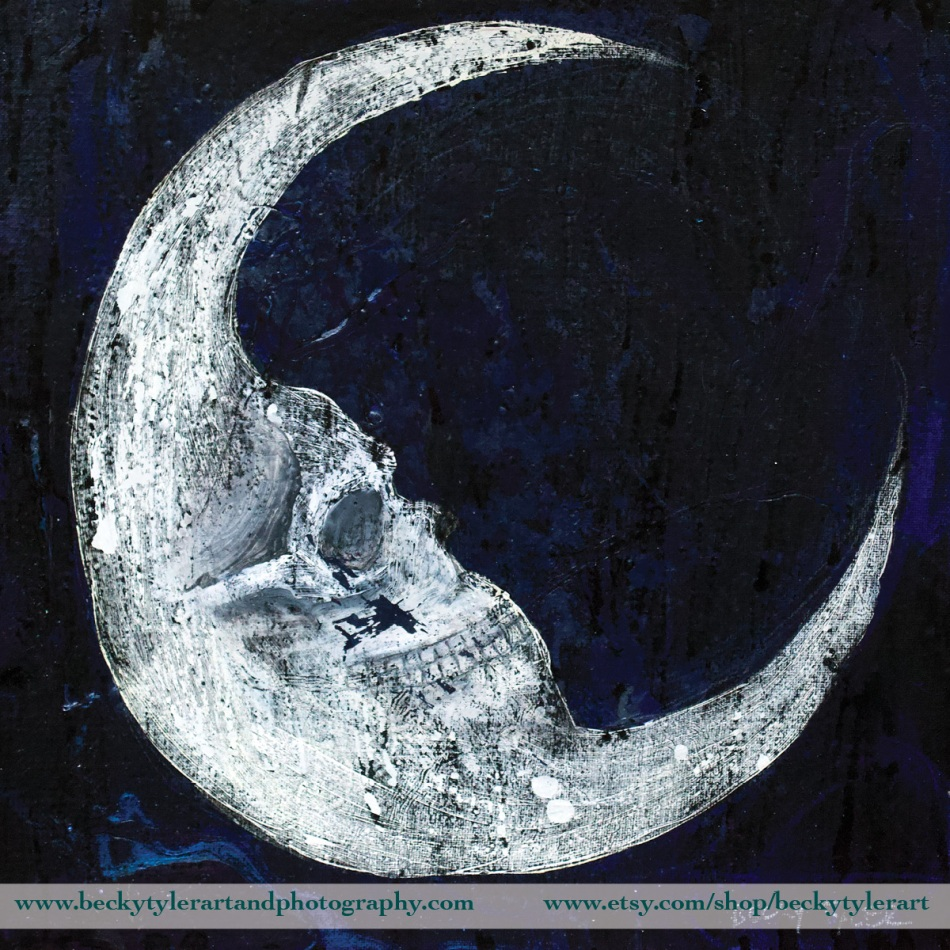 Moon and Skull