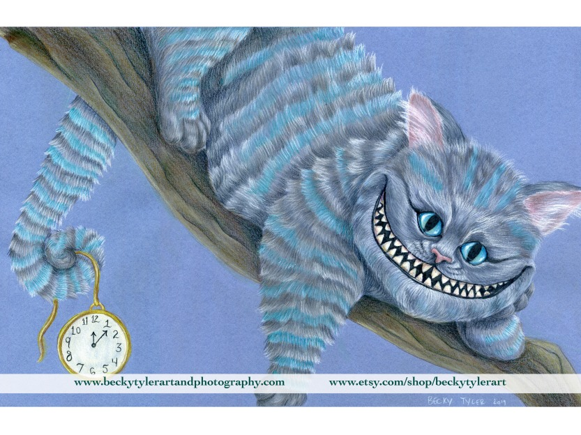 Cheshire Cat_Colored Pencil