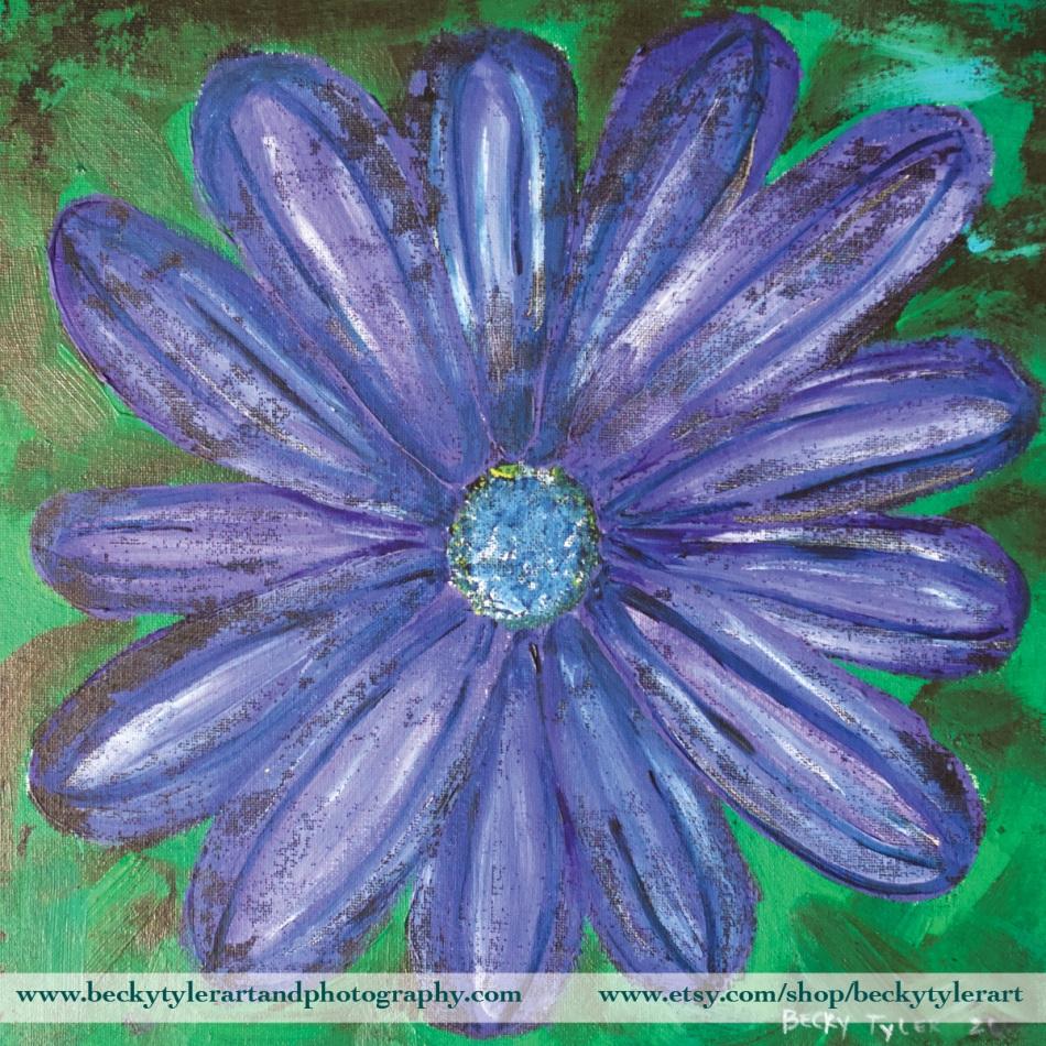 2020 Purple Daisy