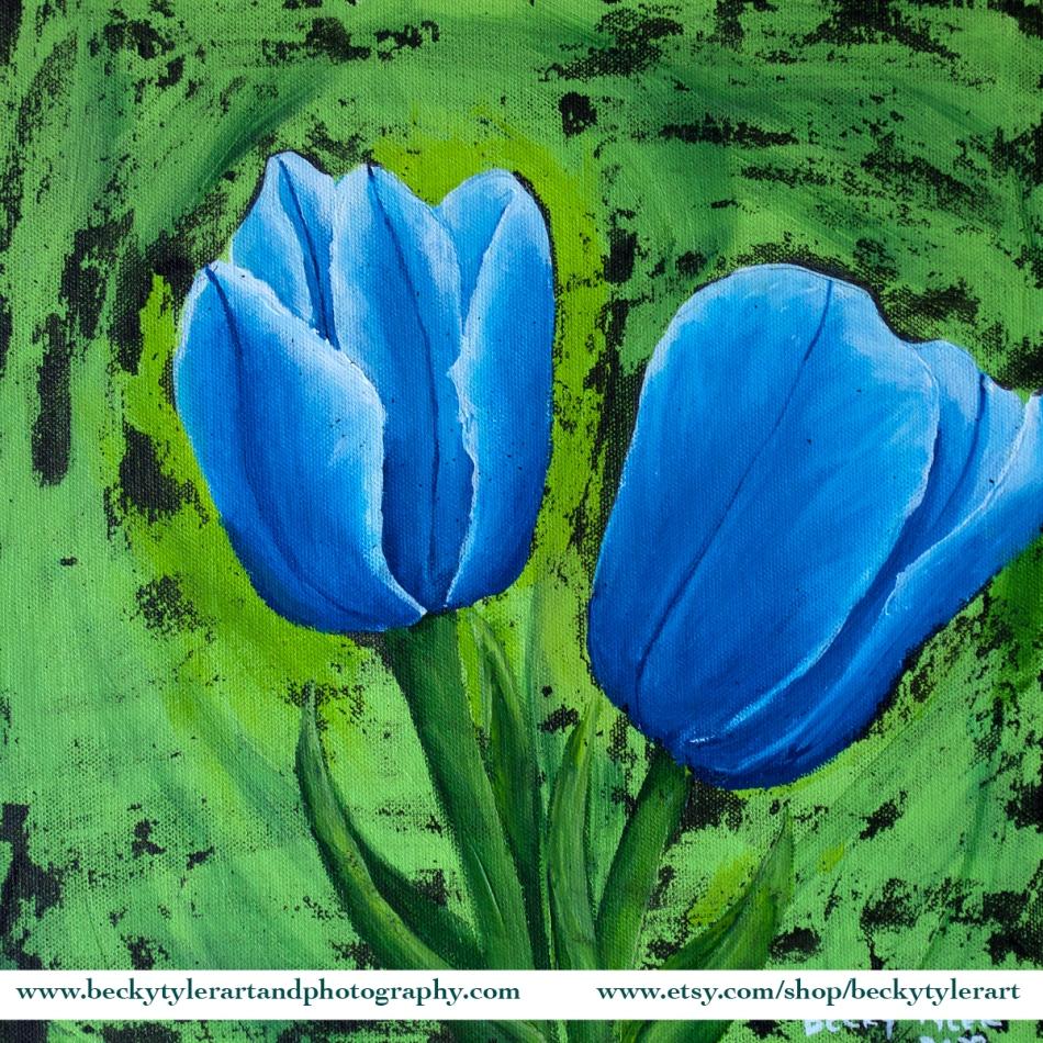 2020 12x12 Blue Tulip