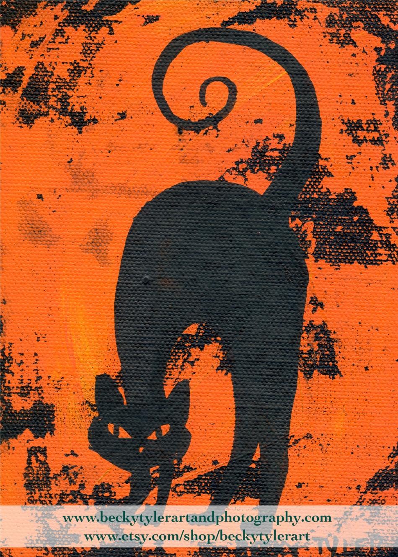 2020 Black Cat 5x7